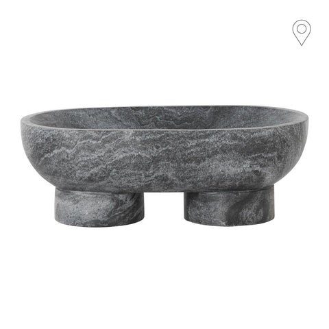 Bowl Alza, different marbles