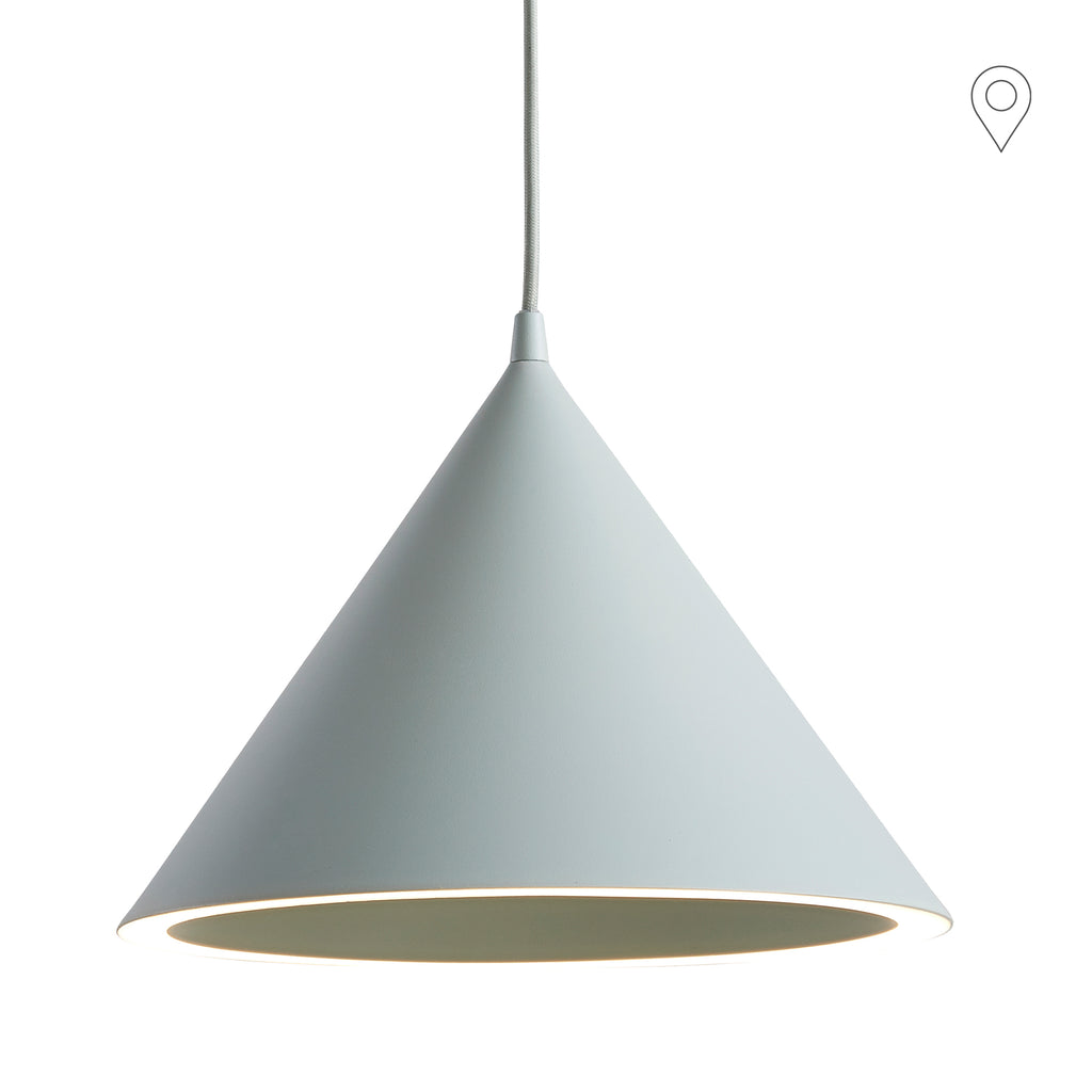Ceiling lamp Annular small, mint green