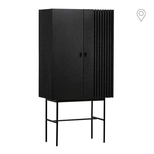 Chest of drawers Array 80, black