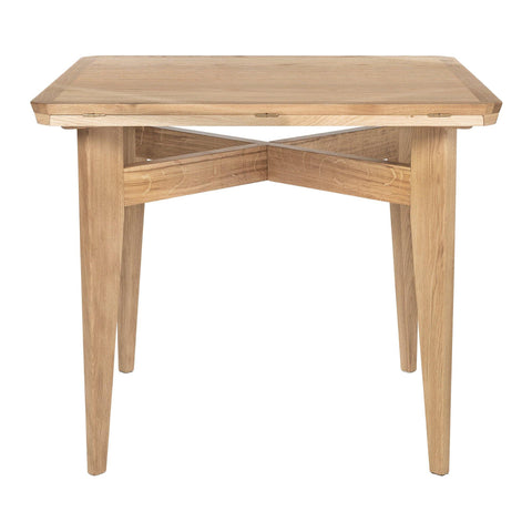 Expandable dining table B-Table, 85x85 / Ø116, different woods