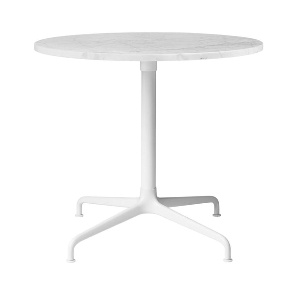 Sofa / side table Beetle, different table leg and surface finishes, Ø70cm - Nordic Design Home