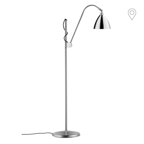 Floor lamp BL3 Ø16cm, different leg and dome finishes - Nordic Design Home