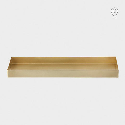 Organizer Office Tray, brass