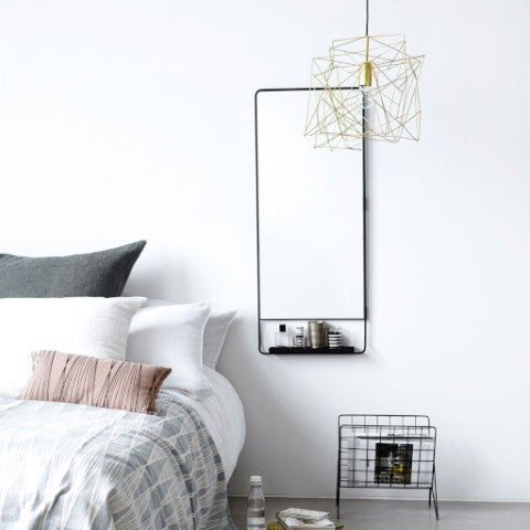 Shelf mirror Chic, vertical House Doctor Accessory - Nordic Design Home