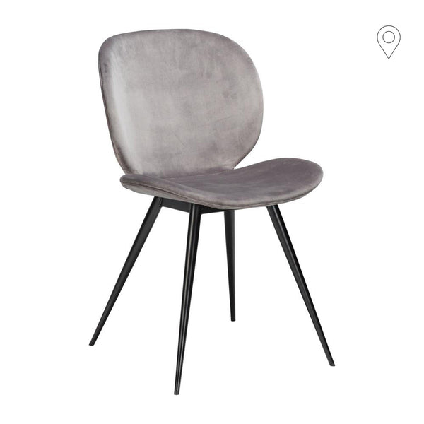 Dining chair Cloud with velvet cover, different colors