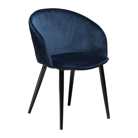 Dining chair Dual, velvet, different colors