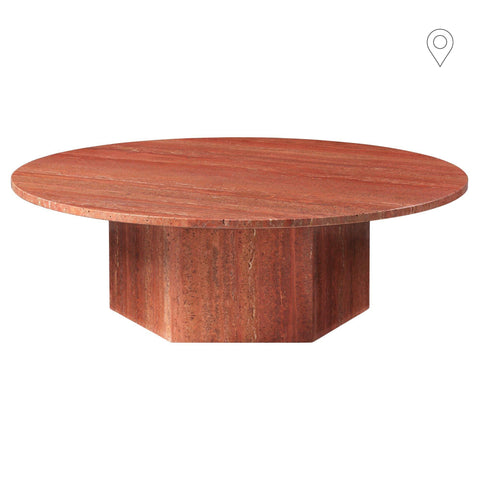 Coffee table Epic, different colors, Ø110cm