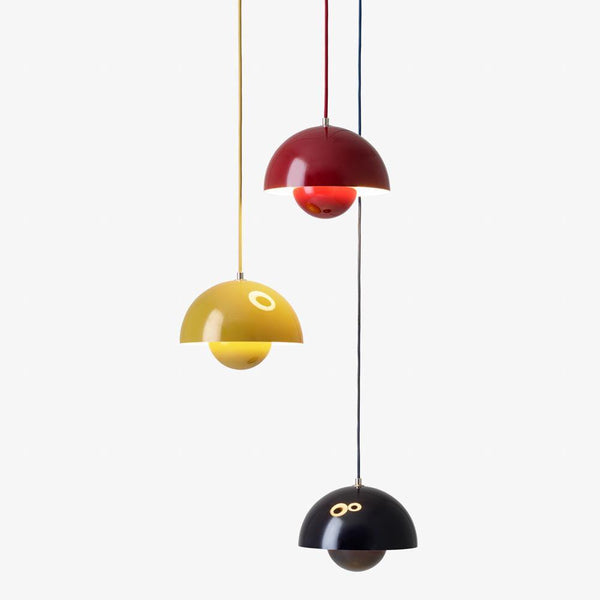 Ceiling lamp Flowerpot VP1, metal finishes & Tradition Lighting - Nordic Design Home