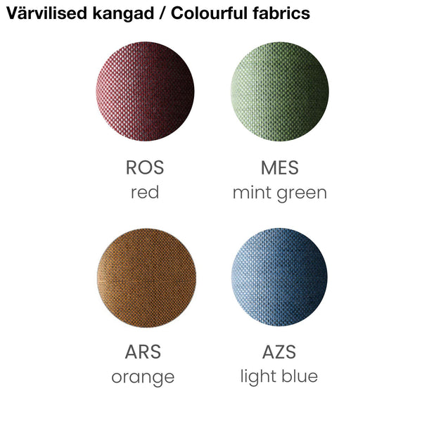 Garden chair cushion CUDS300, different colors, double set