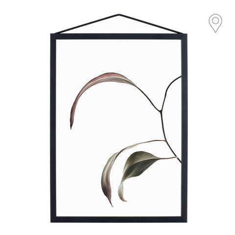 Print Floating Leaves A5, different shapes - Nordic Design Home