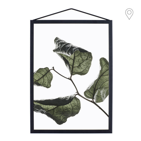 Print Floating Leaves A2, different shapes - Nordic Design Home