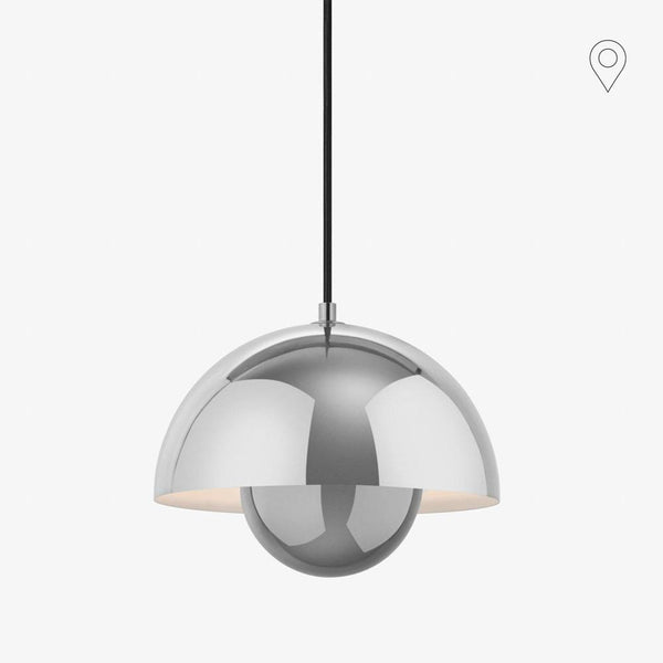 Ceiling lamp Flowerpot VP1, metal finishes
