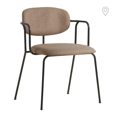 Dining chair Frame, beige gray