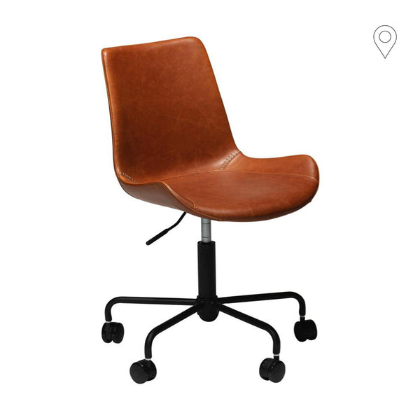 Office chair Hype, brown