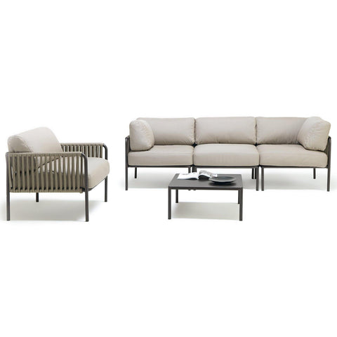 Outdoor furniture set Key West & Miami, different colors - Nordic Design Home