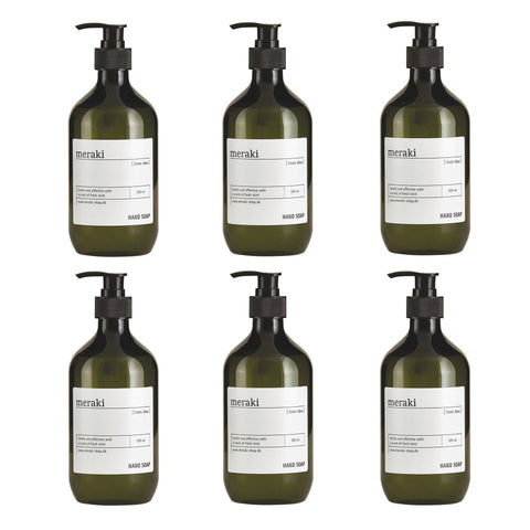 Liquid soap Linen Dew 500ml, set of six