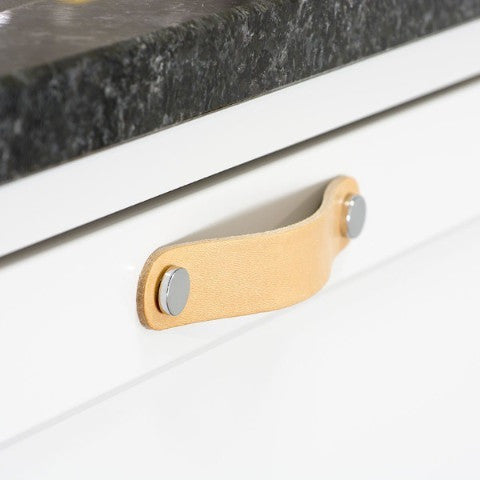 Naturaalne nahast käepide Band ümara äärega NDH Handle - Nordic Design Home