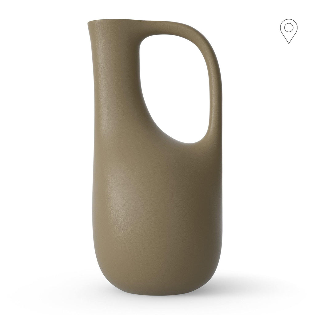 Watering can Liba 5L, olive green - Nordic Design Home