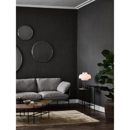 Sofa Cloud LN2, Fiord 151 (light gray), black legs - Sample product -60%