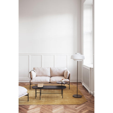 Sofa Cloud LN2, different leg finishes and fabrics - Nordic Design Home