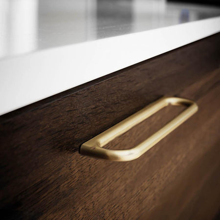 Handle Luck, brushed brass, different sizes Nordic Design Home Handle - Nordic Design Home