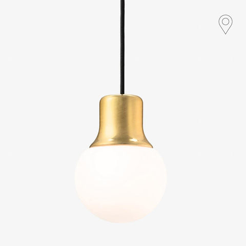 Ceiling lamp Mass Light NA5, brass