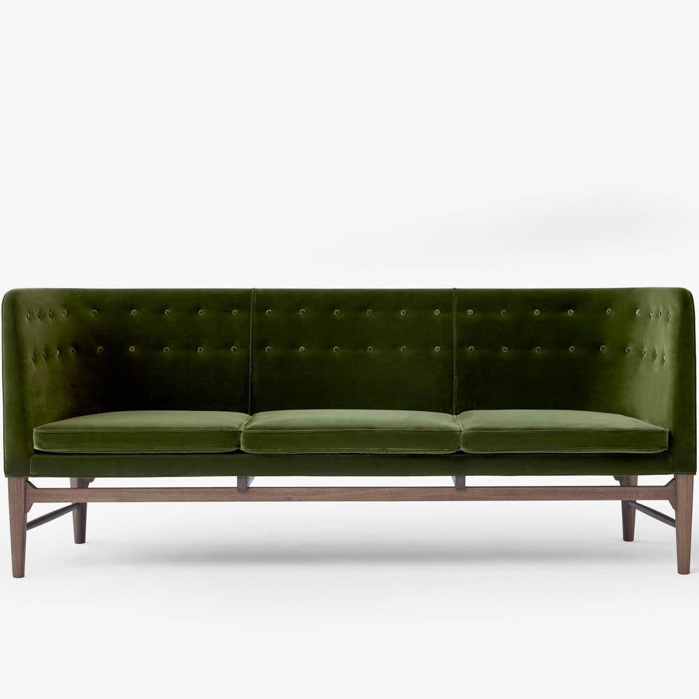 Sofa Mayor AJ5 Triple, Velvet / Different Colors & Tradition Furniture - Nordic Design Home