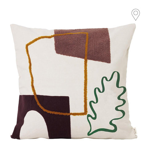 Decorative pillow Mirage Leaf 50x50cm