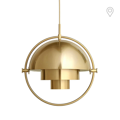 Ceiling lamp Multi-Lite brass / brass, different sizes - Nordic Design Home