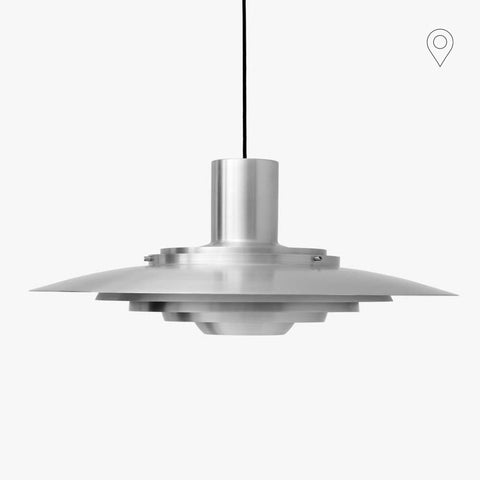 Ceiling lamp P376 KF2, Ø70cm, different finishes