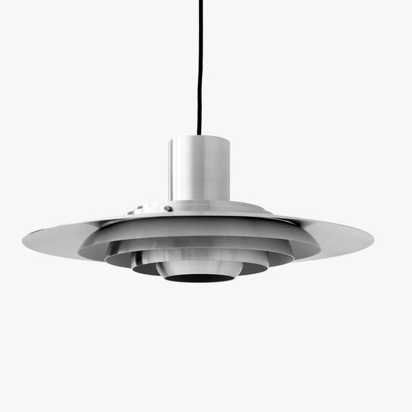 Ceiling lamp P376 KF1, Ø47.5cm, different finishes