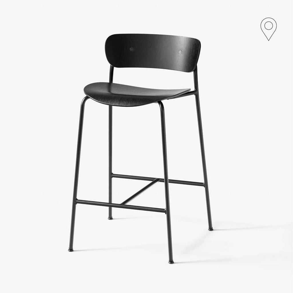 Bar stool Pavilion AV7, seat height 65cm