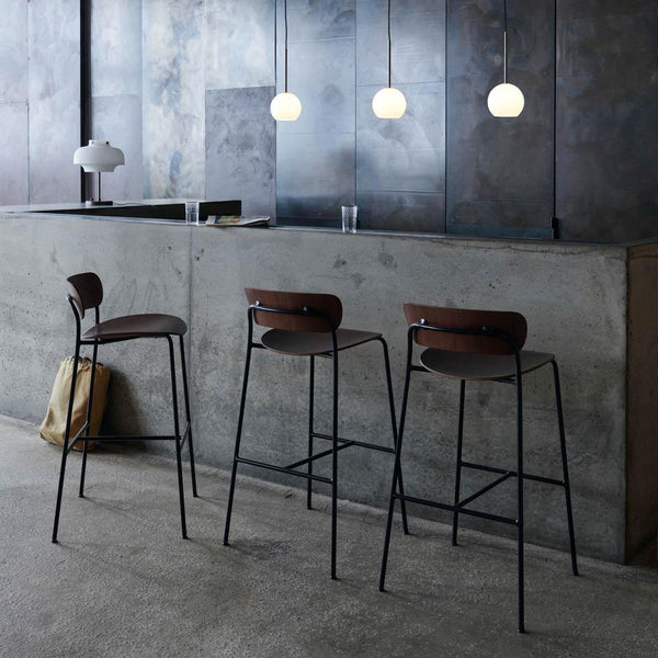 Bar stool Pavilion AV9, seat height 75cm, different colors & Tradition Furniture - Nordic Design Home