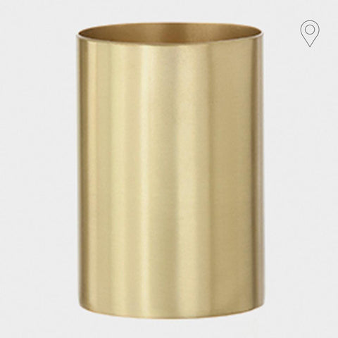 Pencil case Pencil Cup, brass