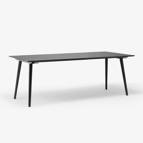 Dining table In Between SK5, 200x90cm, black lacquered oak -25% - Nordic Design Home