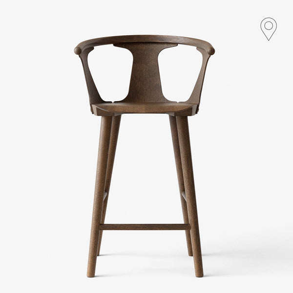 Bar stool In Between SK7, height 65cm, different finishes