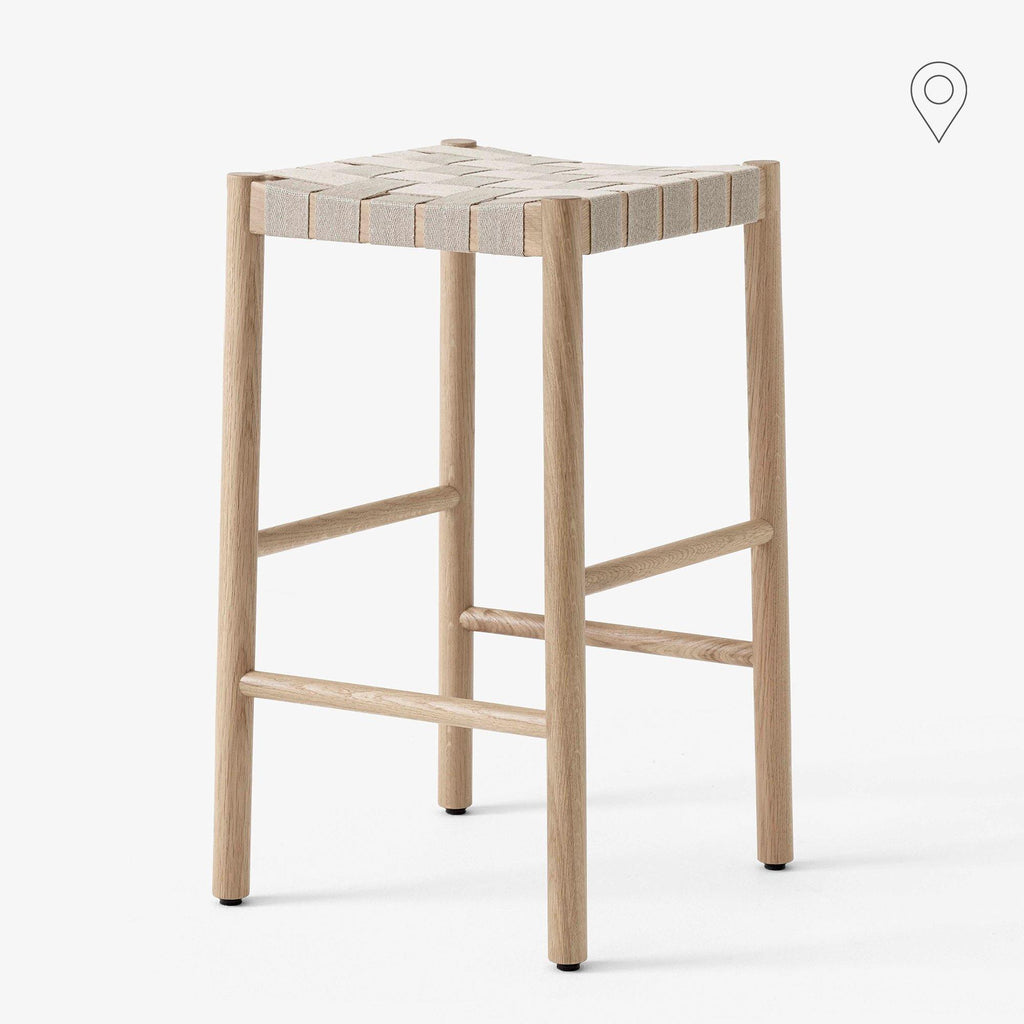 Bar chair Betty TK7, seat height 66cm, natural - Nordic Design Home