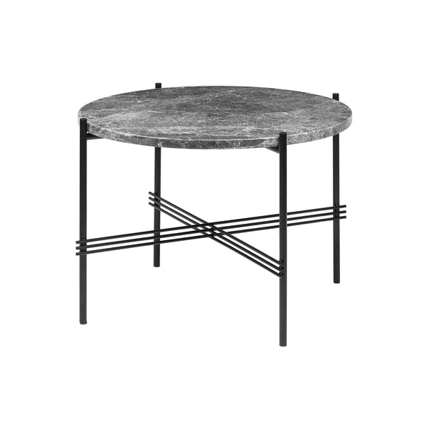 Round coffee table TS, different frame and surface finishes, Ø55