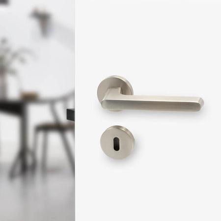 Door handle Tavira, stainless steel
