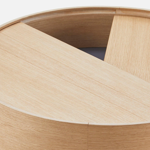 Coffee table Arc small, different finishes