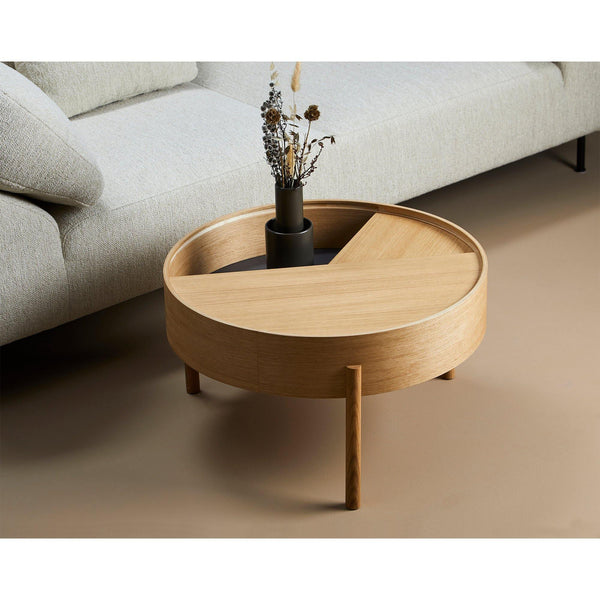 Coffee table Arc large, different finishes