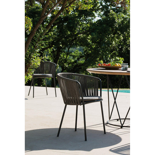 Garden chair Desiree Rope, different colors, 2pcs - Nordic Design Home