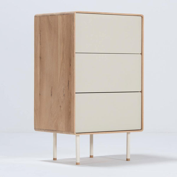 Chest of drawers Fina 60cm, beige