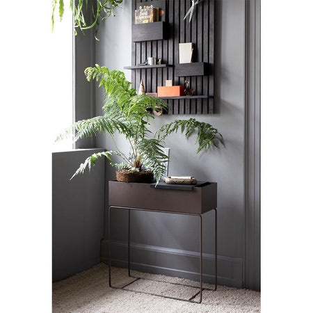 Plant Box 25x60cm, warm gray