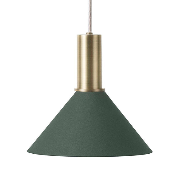 Ceiling lamp Collect - Cone Shade, low, different colors - Nordic Design Home