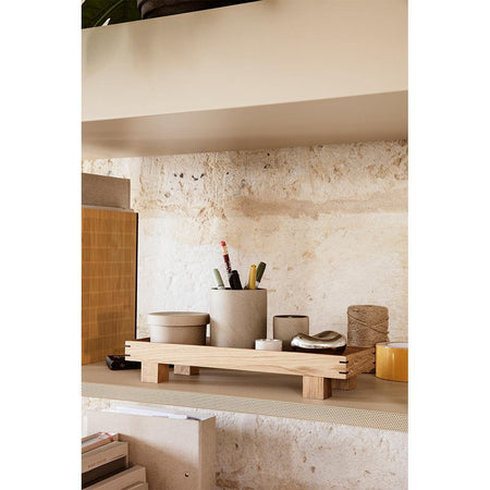 Wooden tray Bon, extra small 36x12cm, natural - Nordic Design Home