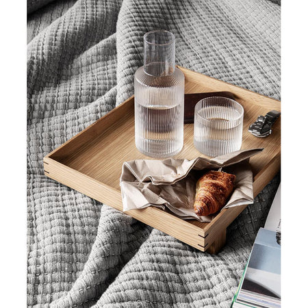 Wooden tray Bon, large 36x47cm, natural