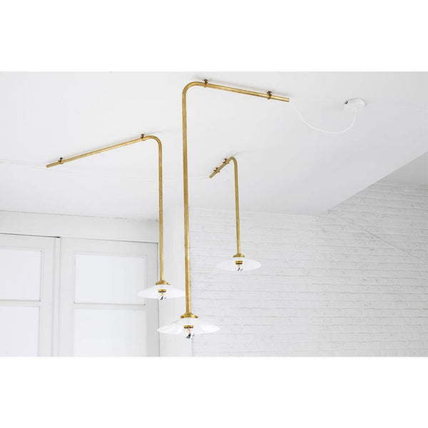 Ceiling lamp n ° 2, brass - Nordic Design Home