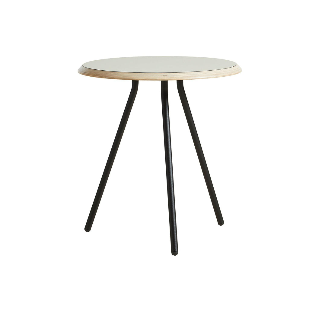 Soround Coffee table Ø45cm, gray with nano laminate cover, height 48.3cm - Nordic Design Home