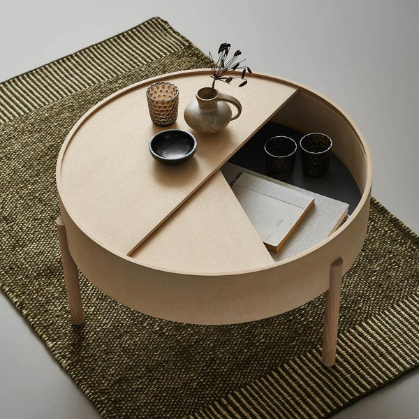 Coffee table Arc large, different finishes WOUD Furniture - Nordic Design Home